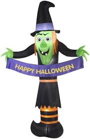 12 u0027 airblown giant witch halloween inflatable u2013 seasons inflatables