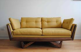 Mid Century Modern Sofa For Sale The Images Collection Of And Brass Legs For Sale Midcentury Mid