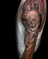 owl tattoo sleeve for men more information