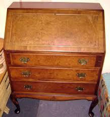 Victorian Secretary Desk by Antique Writing Desk Antique Victorian Walnut Writing Desk