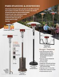 Natural Gas Outdoor Heaters Patio by Premium Outdoor Patio Heaters 2017 Modern Blaze