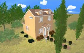 two story small house floor plan sand castle cozy home house