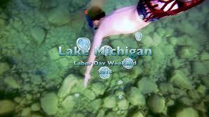 Michigan snorkeling images Snorkeling in lake michigan jpg