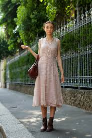 modcloth love her pairing of a midi dress and sartorialist