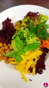 Salat Sauce Recipe Rainbow Power Salad With Green Avocado Sauce Deli Berlin
