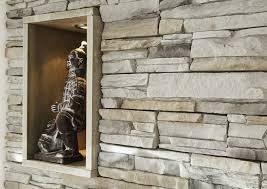 steinwand wohnzimmer gips kunststeine im heim selbst einbauen mit gewenastone steinen die