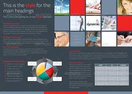 dynamic 4 page brochure u0026 tri fold by boxedcreative graphicriver