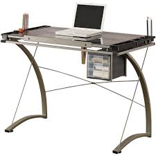 Creation Station Studio Desk by Studio Designs Futura Craft Station With Glass Top Walmart Com