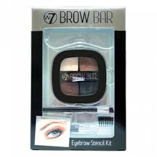 Where To Buy Anastasia Eyebrow Kit Amazon Com W7 Brow Bar Eyebrow Stencil Kit Eyebrow Makeup Beauty