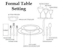 how to set a formal dinner table formal table setting pictures bridalgardenglasgow com