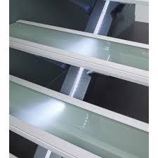 revetement pour escalier exterieur escalier droit mona structure aluminium marche bois leroy merlin
