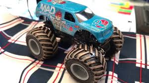 buy wheels monster jam trucks hwmj mad scientist 2017 new wheels monster jam truck 1 64 toy