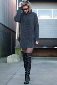 fall 2015 fashionable with over knee boots chic