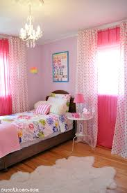 interior ideas sweet girls room design with curtain styles and