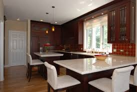 kitchen with island and peninsula chicago kitchen design ideas do you want an island or peninsula
