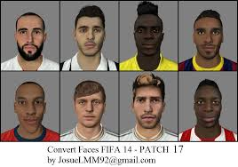 fifa 14 all hairstyles patch convert faces 17 fi xiv fifa 14 at moddingway