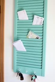 vintage window shutters repurpose tip junkie clever storage using repurposed items a shutter turned into