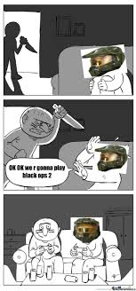 Call Of Duty Black Ops 2 Memes - call of duty black ops 2 in halo version by hassoonex meme center