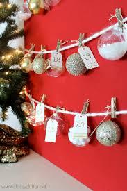 diy ornament advent tree clutter