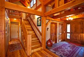 a frame home interiors mountain retreat timber frame residential project photo gallery