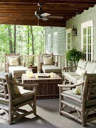 Outdoor Patio Landscaping 57 Cozy Rustic Patio Designs Digsdigs