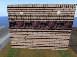second marketplace ornamental brick wall ornate