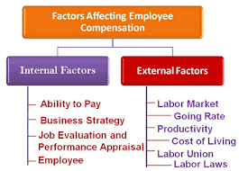 what are the factors affecting employee compensation business jargons