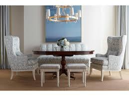 chaddock dining room silverthorne pedestal table ce0917 chaddock