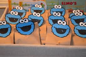 cookie monster the dinner pages