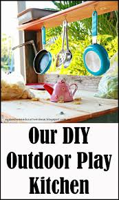206 best play kitchens images on pinterest play kitchens our diy outdoor play kitchen