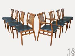 mid century modern drexel heritage dining chairs