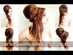 Coolest Girl Hairstyles Ever | best 20 beautiful hairstyles for girls ever youtube