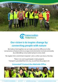 resume writing adelaide volunteer opportunities discover dome adelaide employment and if you are interested click on the following link http conservationvolunteers com au get involved volunteer