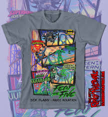 Six Flags Magic Mountain by Six Flags Magic Mountain Fear The Five Islandboy Graphics And