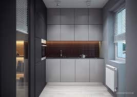 decorating ideas 02 light bule and gray small wooden kitchen full size of decorating ideas 38 modern small space kitchen design with matte black panelling with