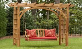 work chairs pergola swing kits garden swing with pergola garden