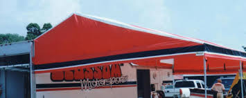 Motorsport Awning For Sale Custom Made Motorsports Trailer Canopies For Sale By Holliday Canopies