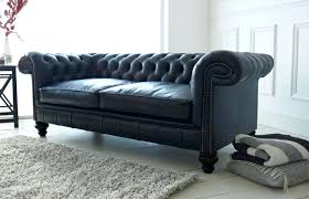 Small Leather Chesterfield Sofa Chesterfield Sofa History And Ludlow Black Leather