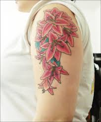 tiger lily tattoos for girls pictures to pin on pinterest tattooskid