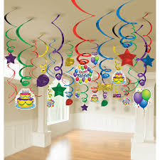 balloon mega value pack swirl decorations 50