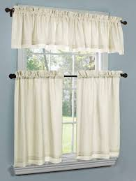 Kitchen Valances And Tiers by Window Tiers And Valance Achim Darcy Tier And Valance Set Target