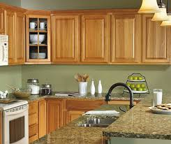 what paint color goes best with hickory cabinets best 25 hickory cabinets ideas on