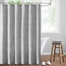 bathroom grey patterned ikat shower curtain for bathroom