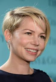short haircuts edgy razor cut more pics of michelle williams layered razor cut blonde short hair