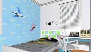 Bedroom Cartoon Cartoon Wallpaper For Children U0027s Bedroom Interior Design