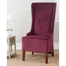 Safavieh Dining Chairs Safavieh Bacall Bordeaux Cotton Dining Chair Mcr4501k The Home Depot