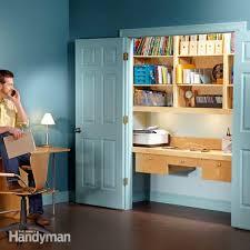 Design A Closet How To Turn A Closet Into An Office Closet Doors Shelving And