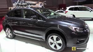 subaru xv interior 2015 subaru xv 2 0d diesel exterior and interior walkaround