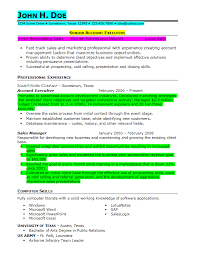 Infantry Resume Examples by Prior Military Resume Example