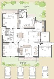 three bedroom ground floor plan ground floor 3 bedroom plans homes floor plans